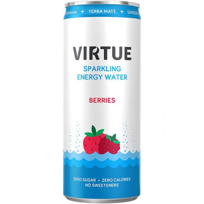 Ανθρακούχο Ενεργιακό Νερό Berries 250μλ 0 kcal