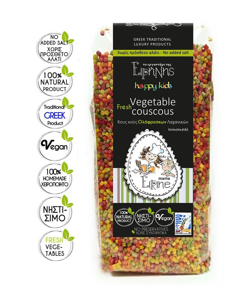 Κους Κους Λαχανικών bio 250γρ