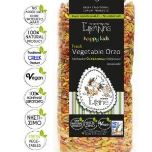 Κριθαράκι Λαχανικών bio 250γρ